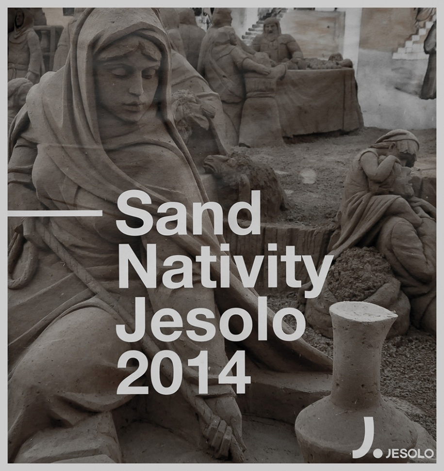 SAND NATIVITY - Jesolo (Ve) 2014 - Manifesto