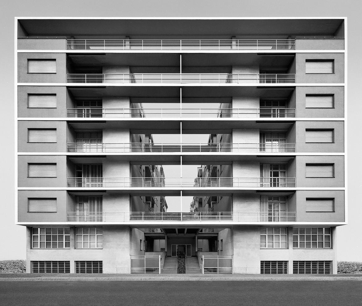 Casa Rustici, Milano. 2002 Arch. Giuseppe Terragni