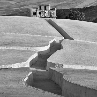 Grande Cretto di Alberto Burri, Gibellina · 2019