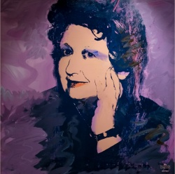 ANDY WARHOL (1928-1987) - Ileana Sonnabend (pannello)