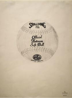 ANDY WARHOL (1928-1987) -Palla da tennis Spalding. 1964