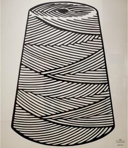 ROY LICHTENSTEIN (1923-1997) - Large Spool