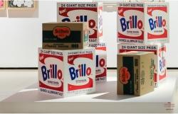 ANDY WARHOL - White Brillo Boxes, 1964 - Del Monte Boxes, 1964