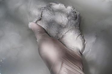 Ritrovamento - In loco Ricognizione di superficie e  Ritrovamento strato melmoso.