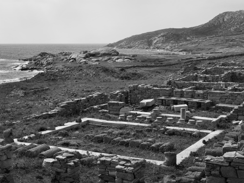 Sito archeologico di Delos Grecia 2014