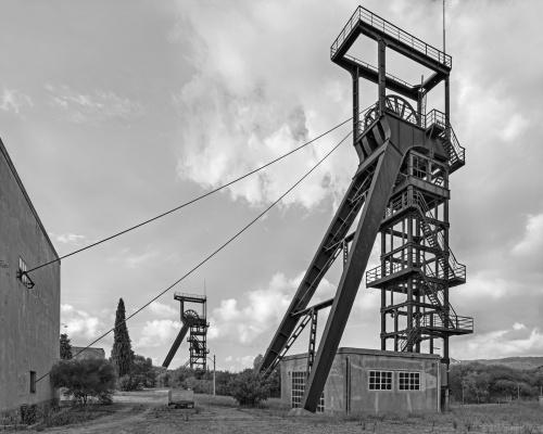 Sulcis, Carbonia, 2019 miniera di Serbariu