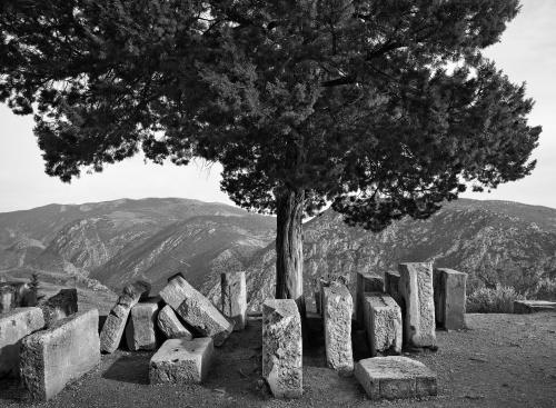Sito archeologico di Delfi Grecia 2014