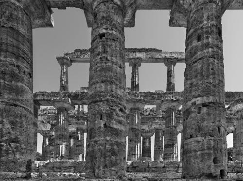 Sito archeologico di Paestum Italia 2010