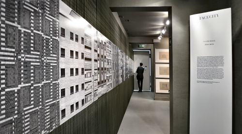 """Allestimento di """"Facecity"""" Biennale Architettura di Venezia. Agosto 2012"""