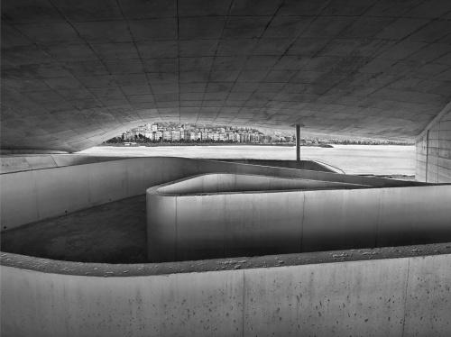 Stazione Marittima, cantiere di Salerno, 16 marzo 2012 ore 16:14. Architetto Zaha  Hadid