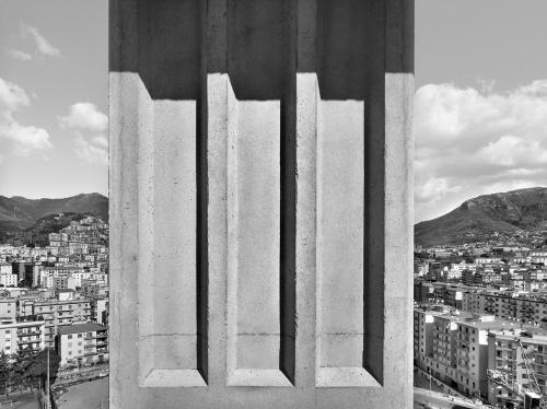 Palazzo di Giustizia. cantiere di Salerno, 14 marzo  2012 ore 10:50. Architetto David Chipperfield