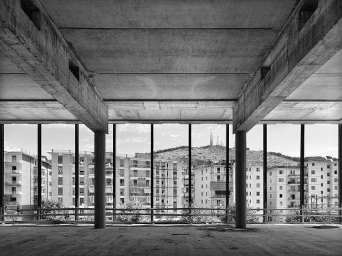 Palazzo di Giustizia. cantiere di Salerno, 14 marzo  2012 ore 12:07. Architetto David Chipperfield