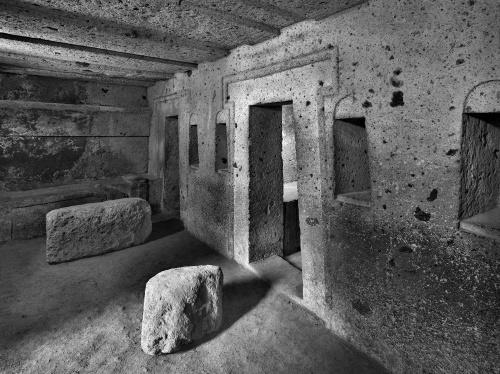 Sito archeologico. Cerveteri, Italia 2010