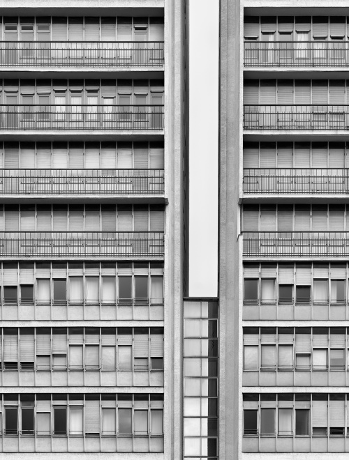 Corso Italia, Milano. Architetto Moretti