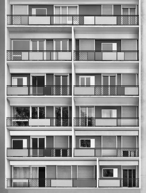 Via Dezza, Milano. Architetto Ponti