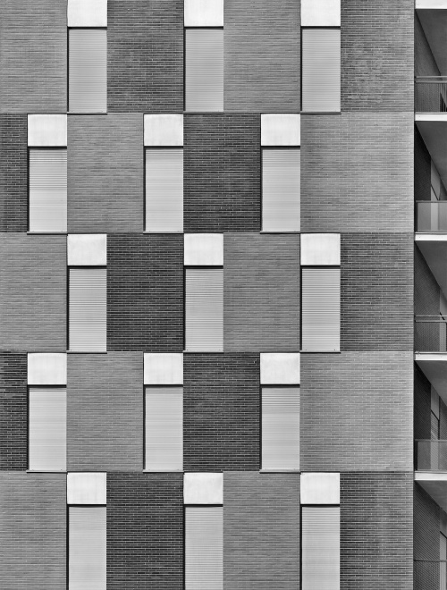 Viale d'Este, Milano. Architetti Mariani e Perogalli