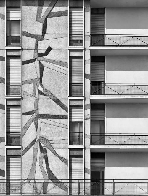 Viale Gorizia, Milano. Architetto Zanuso