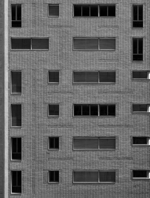 Via Bassini, Milano. Architetto Ponti