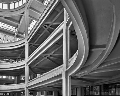 Rampe del Lingotto. Torino, Italia 2020