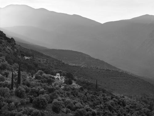 Sito archeologico. Delfi, Grecia 2014