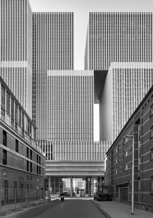 De Rotterdam Building. Rotterdam, Olanda 2017