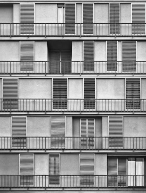 Via Massena, Milano. Architetto Caccia Dominioni