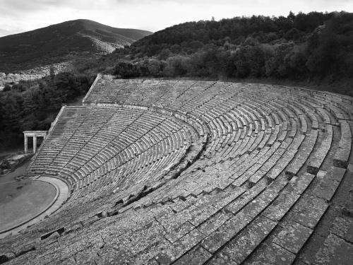 Sito archeologico. Epidauro, Grecia 2014