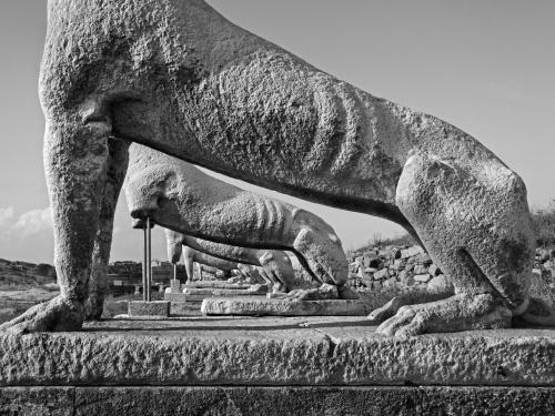 Sito archeologico. Delos, Grecia 2014