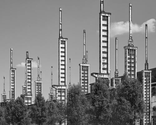 Parco Dora, ex Ferrerie Fiat. Torino, Italia 2020